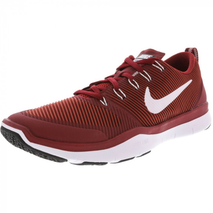 Nike barbati Free Train Versatility Tb Team Crimson / White-Black Ankle-High Training Shoes foto mare