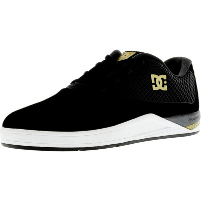 Dc barbati N2 S Black / Gold Ankle-High Fabric Running Shoe foto