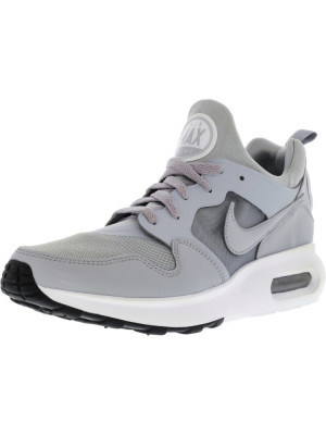 Nike barbati Air Max Prime Wolf Grey / Grey-White Ankle-High Running Shoe foto