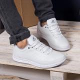 Pantofi sport Harlan albi comozi