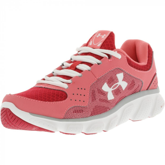 Under Armour fete Micro G Assert Iv Success / Passion Aluminum Ankle-High Running Shoe foto mare