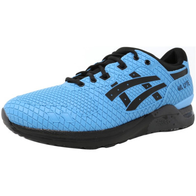 Asics barbati Gel-Lyte Evo Light Blue / Black Ankle-High Running Shoe foto