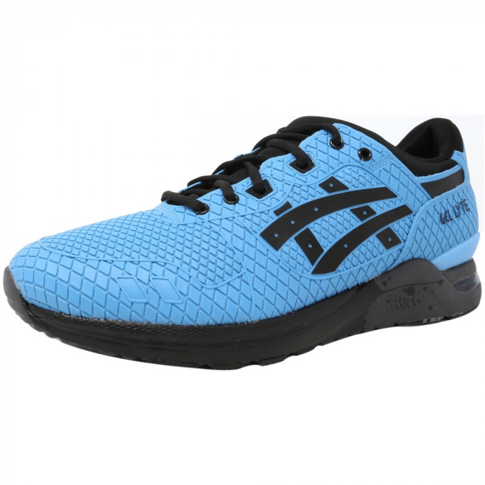 Asics barbati Gel-Lyte Evo Light Blue / Black Ankle-High Running Shoe