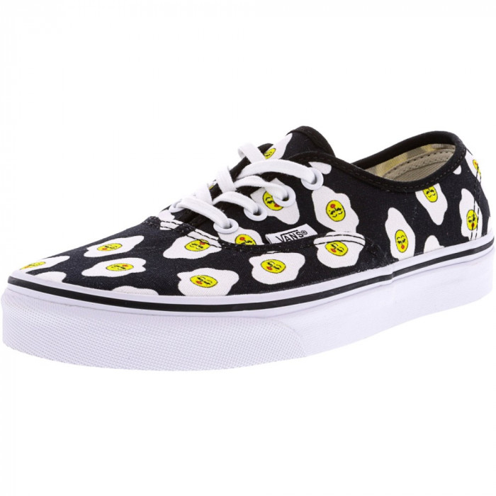 Vans Authentic Kendra Dandy Sassy Side Ankle-High Canvas Skateboarding Shoe