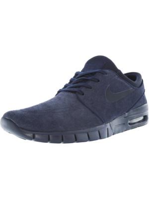 Nike barbati Stefan Janoski Max L Obsidian / Dark Ankle-High Fashion Sneaker foto
