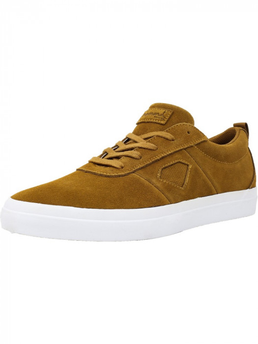 Diamond barbati Icon Light Brown Ankle-High Skateboarding Shoe foto mare