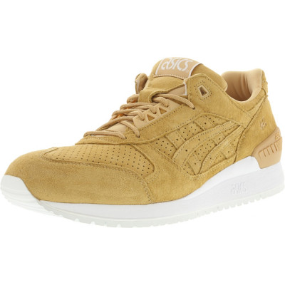 Asics barbati Gel-Respector Clay / Ankle-High Suede Fashion Sneaker foto