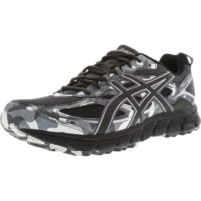 Asics barbati Gel-Scram 3 Black / Glacier Grey Ankle-High Running Shoe foto