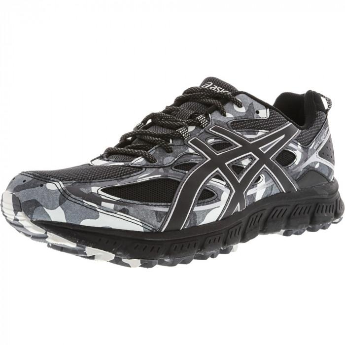 Asics barbati Gel-Scram 3 Black / Glacier Grey Ankle-High Running Shoe