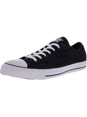 Converse Chuck Taylor All Star Ox Woven Black / Ankle-High Fashion Sneaker foto