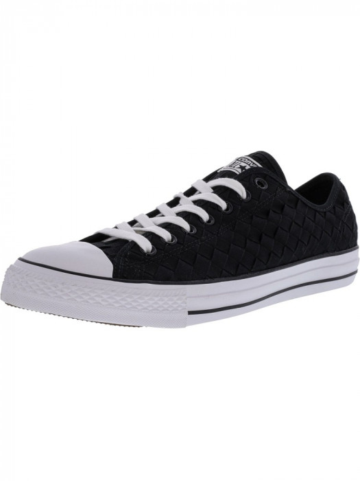 Converse Chuck Taylor All Star Ox Woven Black / Ankle-High Fashion Sneaker