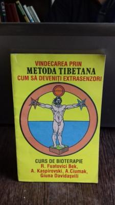 VINDECAREA PRIN METODA TIBETANA - R. FUATOVICI BEK foto