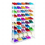 Organizator - Raft Metalic pentru 30 Perechi Pantofi, Dimensiune 140x70cm, GTL