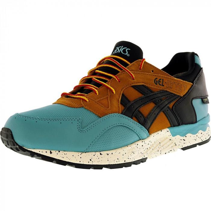 Asics barbati Gel-Lyte V G-Tx Kingfisher / Black Ankle-High Leather Running Shoe