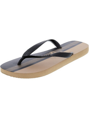 Havaianas barbati Top Conceitos Rose Gold / Black Rubber Sandal foto