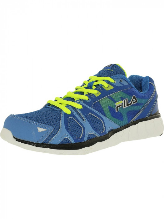 Fila barbati Shadow Sprinter Prbl/Mrna/Neon Green Ankle-High Running Shoe foto mare