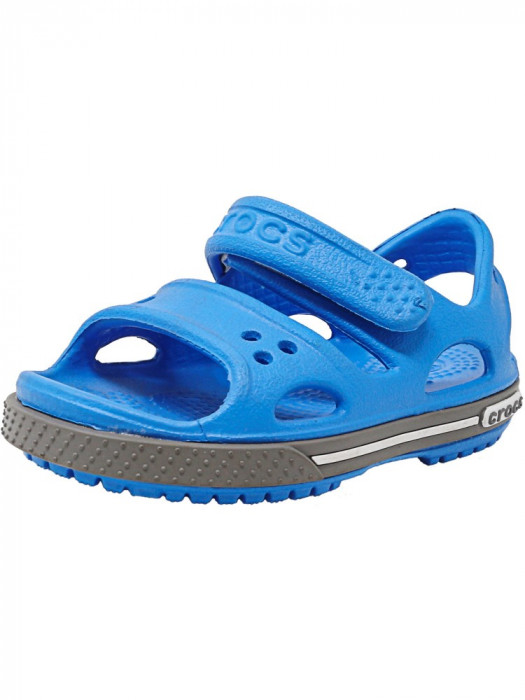 Crocs Crocband Ii Sandal Ocean / Smoke Ankle-High foto mare