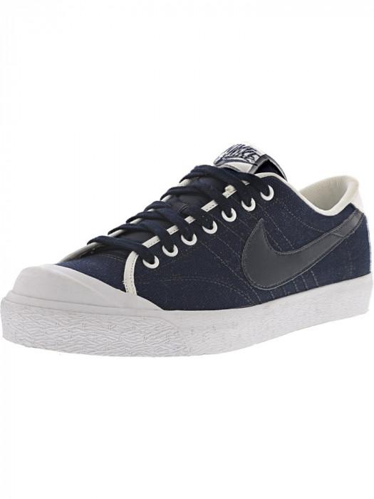 Nike barbati 417721 403 Ankle-High Canvas Fashion Sneaker