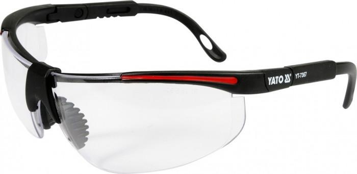 Ochelari de protectie cu rame negre YATO
