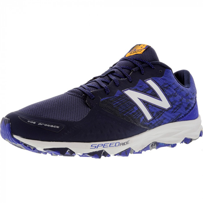 New Balance barbati Mt690 Lm2 Ankle-High Fabric Trail Runner
