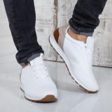 Pantofi sport Spengler albi