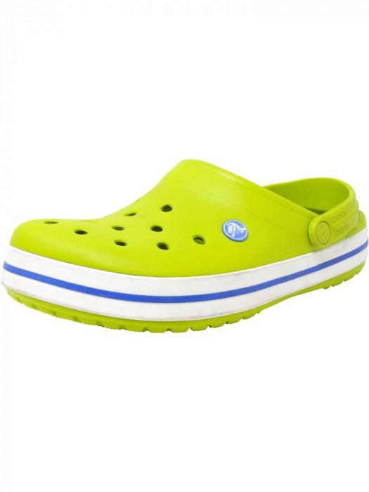 Crocs Crocband Clog Volt Green / Varsity Blue Clogs