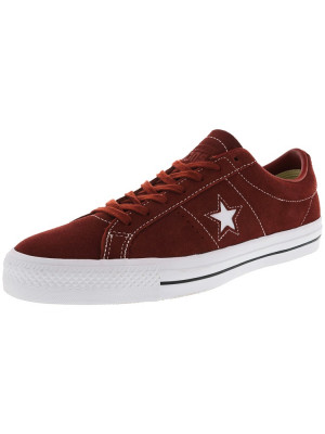Converse All Star Pro Ox Terra Red / Low Top Suede Skateboarding Shoe foto