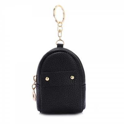 AGP1091 - Black Flap Purse/Wallet With Tassel foto