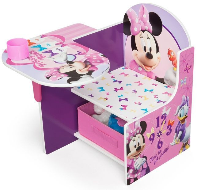 Scaun multifunctional din lemn Disney Minnie Mouse foto mare