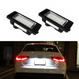 Lampa LED numar Audi A1 RS TT Q5 VW Golf 6 7 Jetta SKODA Fabia Superb DEDICATA