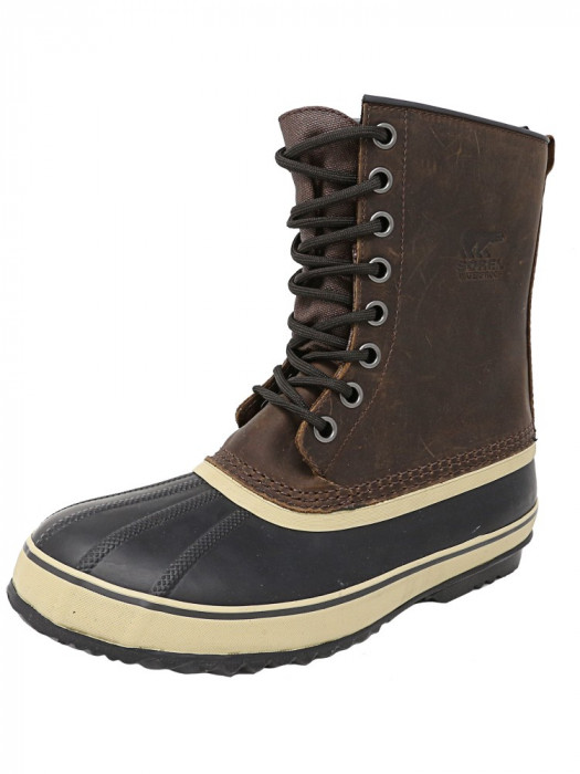 Sorel barbati 1964 Premium T Tobacco Ankle-High Leather Snow Boot foto mare