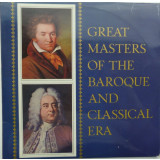 Great masters of the Baroque and Classical Era : HANDEL & BEETHOVEN ( vinil)