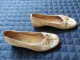 Pantofi piele naturala Gabor.  Marime 37 (23.7 cm talpic interior)., Cu toc