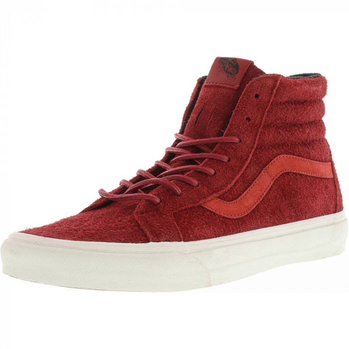 Vans Sk8-Hi Reissue Year Of The Monkey Red / Suede Ankle-High Skateboarding Shoe foto mare