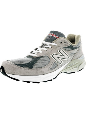 New Balance barbati M990 Gl3 Ankle-High Leather Running Shoe foto