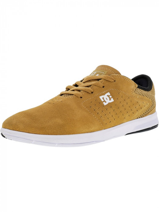 Dc barbati New Jack S Timber Ankle-High Suede Skateboarding Shoe foto mare