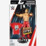 Figurina WWE Shinsuke Nakamura Elite 57, 18 cm, Mattel