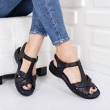 Sandale Piele Sense negre
