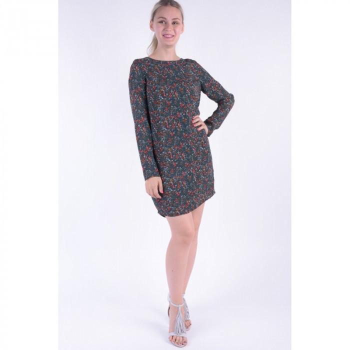 Rochie Vero Moda Vmcamille Ls Short Dress Jet Set / Camille foto mare