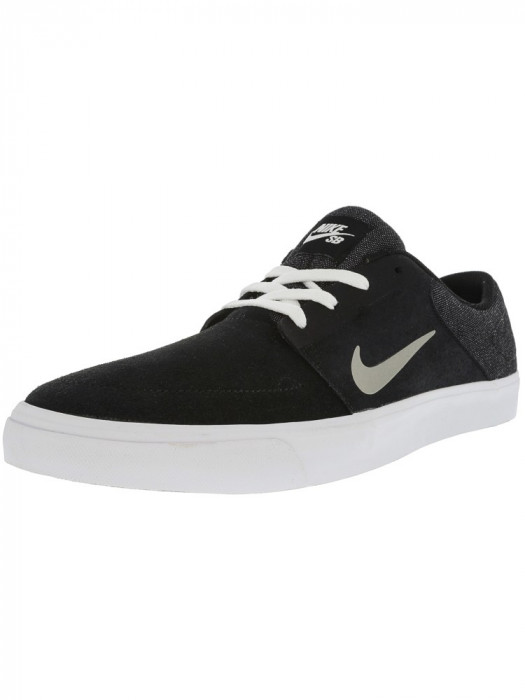 Nike barbati Sb Portmore Black / Medium Grey White Ankle-High Skateboarding Shoe