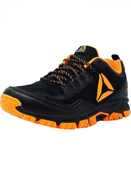 Reebok barbati Ridgerider Trail 2 Mt Black / Wild Orange Ankle-High Runner