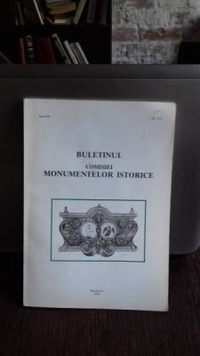 BULETINUL COMISIEI MONUMENTELOR ISTORICE NR.3-4/1998 foto