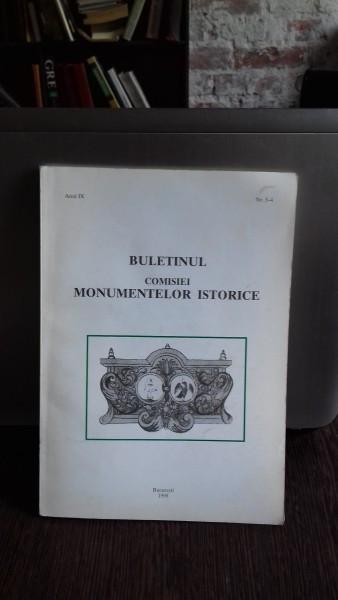 BULETINUL COMISIEI MONUMENTELOR ISTORICE NR.3-4/1998 foto mare