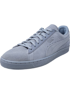 Puma barbati Classic Tonal Suede Blue Fog Ankle-High Fashion Sneaker foto