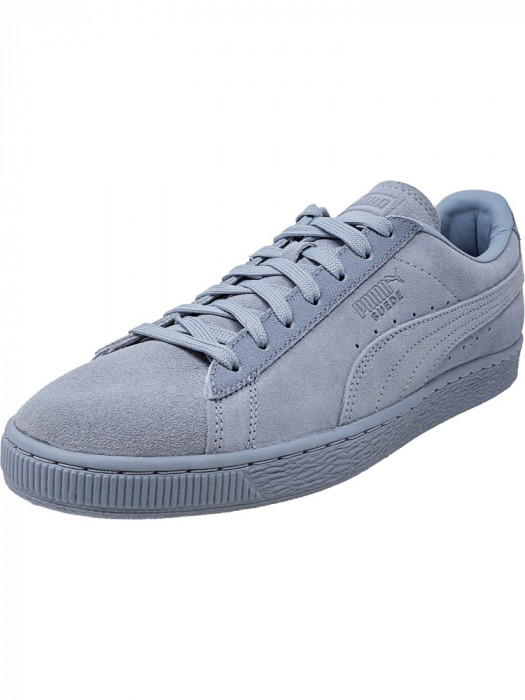 Puma barbati Classic Tonal Suede Blue Fog Ankle-High Fashion Sneaker