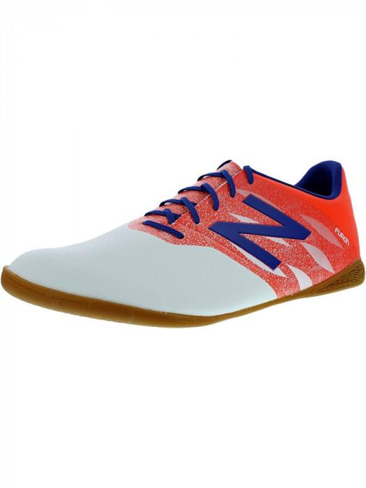 New Balance barbati Msfudiw0 Orange/White/Blue Ankle-High Running Shoe
