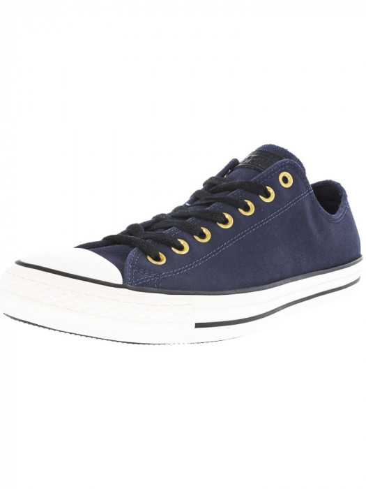 Converse Chuck Taylor All Star Ox Obsidian / Egret Black Ankle-High Fashion Sneaker foto mare