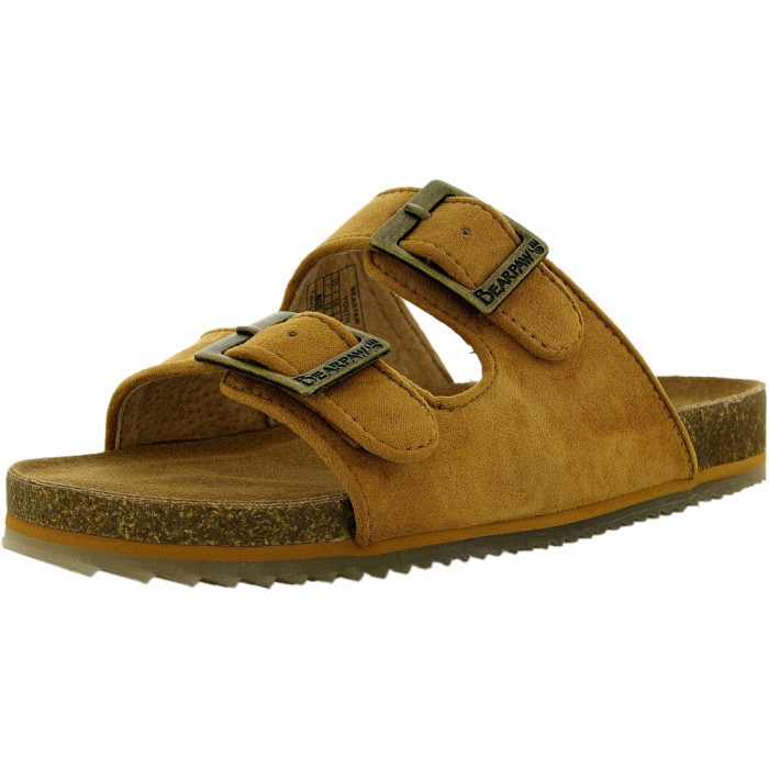 Bearpaw fete Brooklyn Suede Carmel Ankle-High Sandal