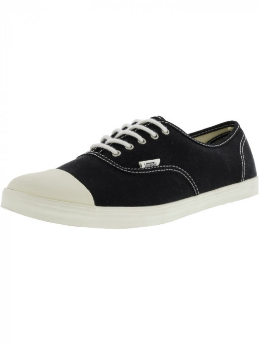 Vans Authentic Lo Pro Tc Black / Vanilla Ice Ankle-High Canvas Skateboarding Shoe foto mare