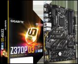 Placa de baza GIGABYTE Socket LGA1151, Z370P D3, Dual channel memory, 4* DDR4 DIMM, DDR4 bulk